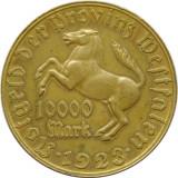 X271 GERMANIA 1923 WESTFALIA 10000 MARK TOKEN JETON BRONZ  aUNC, Europa