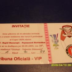 Invitatie Rapid - Feyenoord