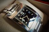 OKAZIE: CEAS GUCCI  ORIGINAL GEAM SAFIR ( bratara, carcasa inox, quartz, lux), Lux - elegant