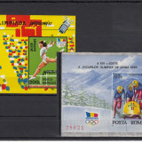 ROMANIA 1992, LP 1276, LP 1291 ALTBERTVILLE SI BARCELONA MNH, LOT 1 RO - Timbre Romania, Nestampilat