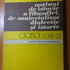 Manual de filozofie pt clasa a 12-a din anul 1985 - Filosofie