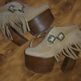 pantofi Jeffrey Campbell superbi, marimea 37 megapret