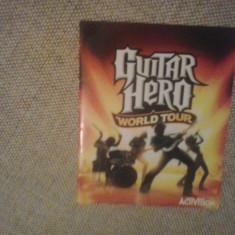Manual - Guitar Hero World Tour - PS3 ( GameLand )