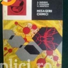 A. Barabas, F. Hodosan, H. Mantsch - Mesagerii chimici