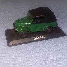 GAZ 69A DeAGOSTINI SCARA 1:43 - Macheta auto