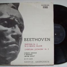 Disc vinil BEETHOVEN - Simfonia nr.4 / Uvertura