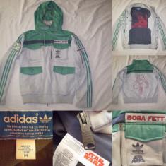 Bluza Adidas Star Wars Boba Fett Jacket (M) barbati casual sport retro vintage - Jacheta barbati Adidas, Marime: M, Culoare: Din imagine