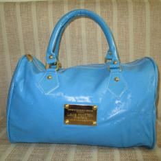 Geanta dama albastra bleu Louis Vuitton +CADOU, Culoare: Din imagine, Marime: Medie, Turcoaz, Asemanator piele