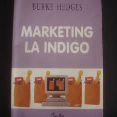 BURKE HEDGES - MARKETING LA INDIGO - Carte Marketing