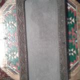 Tava de lemn, stil neobrancovenesc
