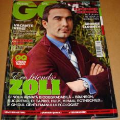 Revista GQ Romania ( Gentlemen's Quarterly) - Martie 2010 nr. 13