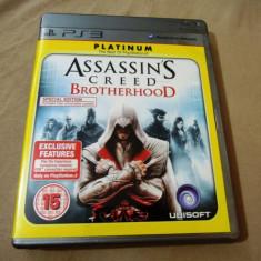 Joc Assassin's Creed Brotherhood Special Edition original, PS3!