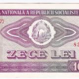 2) Bancnota 10 Lei 1966 VF+ - Bancnota romaneasca