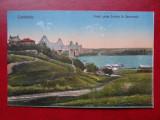 AKDVTM- Carte postala - Vedere - Constanta - podul peste dunare la Cernavoda, Circulata, Printata