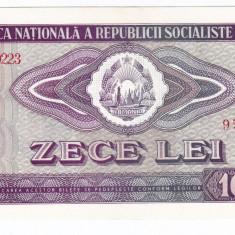 2) Bancnota 10 Lei 1966  VF+/XF