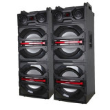 SISTEM 2 BOXE ACTIVE CU MIXER SI MP3 USB INCLUS,500 WATT,2 MICROFOANE WIRELESS.