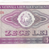 1) Bancnota 10 Lei 1966 VF+ - Bancnota romaneasca