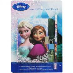 Jurnal Secret Disney Frozen - Agenda scolara