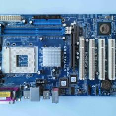 Placa de baza Asrock K7VT4A PRO SATA DDR1 AGP socket 462 socket A, Pentru AMD, A, ATX