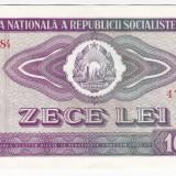 1) Bancnota 10 Lei 1966 a.UNC - Bancnota romaneasca