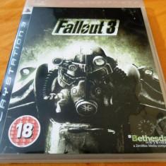 Joc Fallout 3 original, PS3! Alte sute de jocuri! - Jocuri PS3 Bethesda Softworks, Actiune, 18+, Single player