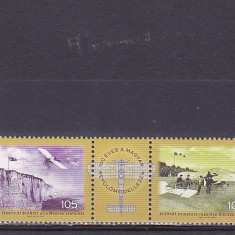 Istorie aviatie, Bleriot, Ungaria. - Timbre straine, Nestampilat