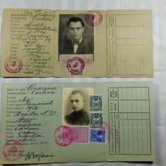 BIROUL POPULATIEI - ACEIAS PERSOANA ELEV SI APOI DOCTOR SEF DE CLINICA LA CLUJ - Pasaport/Document