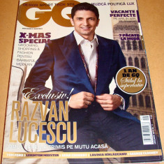 Revista GQ Romania ( Gentlemen's Quarterly) - Ianuarie 2010 Nr. 11 - Revista barbati