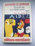 MARIO DE MICHELI MANIFESTE REVOLUTIONARE