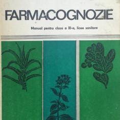 FARMACOGNOZIE. MANUAL PENTRU CLASA A XI-A - Pavel Petcu