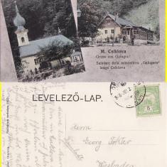 Ciclova (Caras Severin, Banat) - Manastirea Galugara -rara - Carte Postala Banat 1904-1918, Circulata, Printata