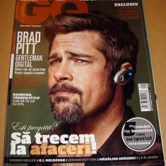 Revista GQ Romania ( Gentlemen's Quarterly) - Septembrie 2009 Nr. 7 - Revista barbati