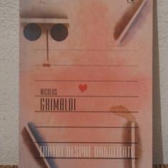 h3 Nicolas Grimaldi - Tratat despre Banalitate (editura Nemira, 2006)