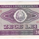 3) Bancnota 10 Lei 1966 VF+/XF - Bancnota romaneasca