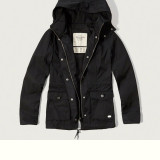 ABERCROMBIE & FITCH GEACA Zip-Up Nylon Parka