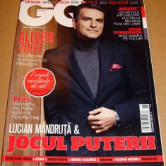 Revista GQ Romania ( Gentlemen's Quarterly) - Noiembrie 2009 Nr. 9 - Revista barbati