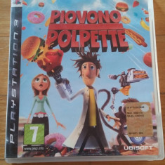 JOC PS3 CLOUDY WITH A CHANCE OF MEATBALLS ORIGINAL / by WADDER - Jocuri PS3 Ubisoft, Actiune, 12+, Multiplayer