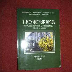Monografia Colegiului National,, Nicolae Iorga '' Valenii de Munte - Carte Monografie