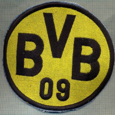 "311 -EMBLEMA MARE - FOTBAL ,,BVB 09"" BORUSIA DORTMUND -starea care se vede"