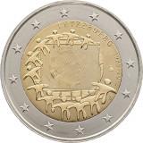 RAR !! Drapelul UE - Luxemburg moneda comemorativa 2 euro 2015 - UNC, Europa