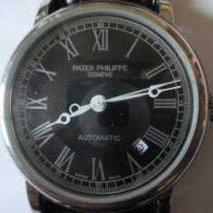 CEAS AUTOMATIC PATEK PHILIPPE GENEVE FUNCTIONEAZA IMPECABIL - Ceas barbatesc Patek Philippe, Elegant, Mecanic-Automatic, Piele, Analog