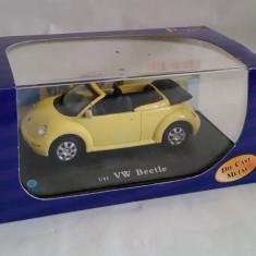 Macheta auto / masina de colectie din metal scala 1:43 VW Beetle