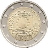 REDUCERE - Drapelul UE - Lituania moneda comemorativa 2 euro 2015 - UNC, Europa