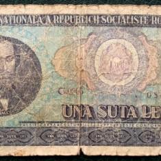 ROMANIA 100 LEI 1966 ** - Bancnota romaneasca