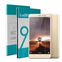Folie sticla XIAOMI REDMI NOTE 3 protectie ecran securizata note 2 pro - Folie de protectie Lenovo, Anti zgariere