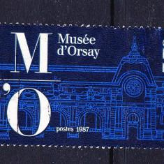 Timbre FRANTA 1986 = MUZEUL QUAI D'ORSAY - Timbre straine, Stampilat