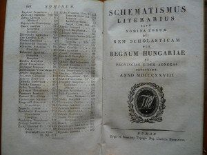 Calendar pentru uzul bisericii catolice , Buda , 1828 , 550 pagini