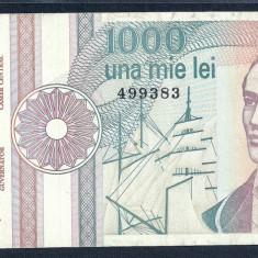 ROMANIA 1000 1.000 LEI 1991 [25] serie fara punct