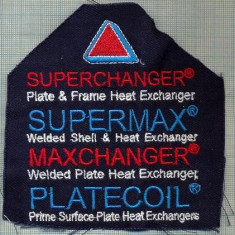 312 -EMBLEMA MARE -  SUPERCHANGER -SUPERMAX -MAXCHANGER -starea care se vede