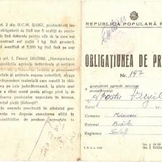 OBLIGATIUNE DE PREDARE RPR - Pasaport/Document